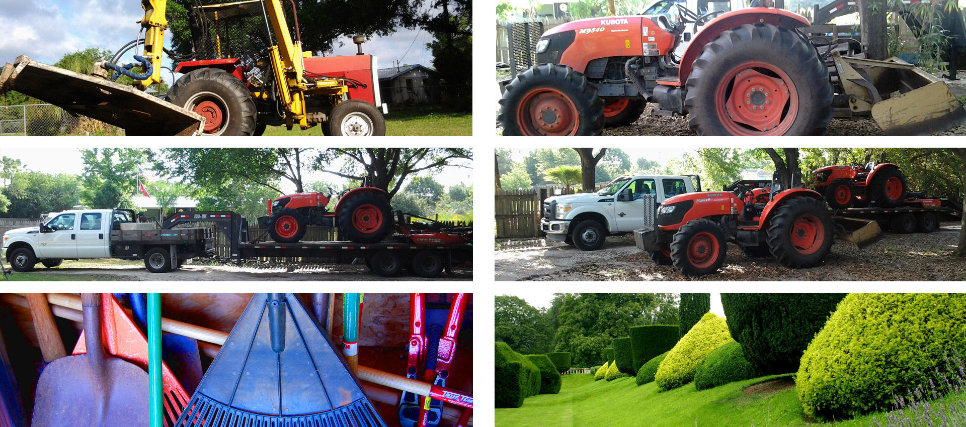 Dennis DeWolf Tractors LLC: Brush Hog Mowing, Land Clearing and Ditch Maintenance in Tampa Bay, St. Petersburg and Wesley Chapel